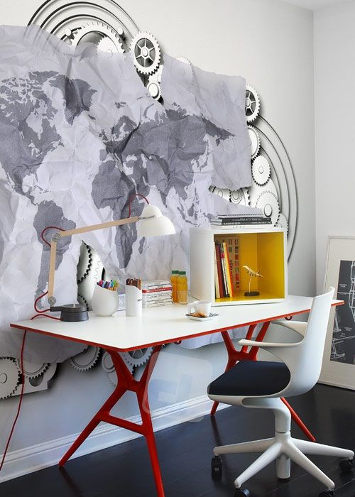 04420b3d5ad3e Vliesová tapeta Mr Perswall - Modern World 360 x 265 cm | Design-shop.sk
