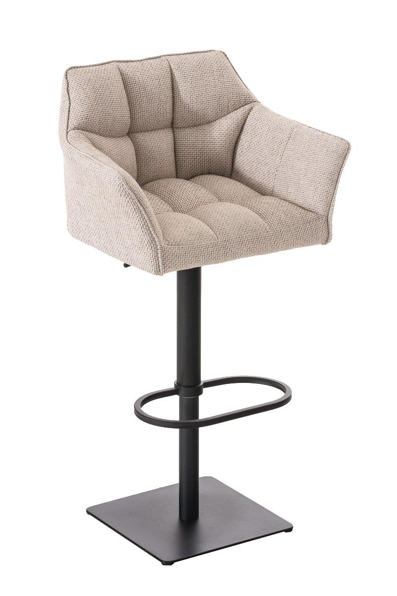 fe453894f414a Barová stolička Damas B látka čierny rám | Design-shop.sk