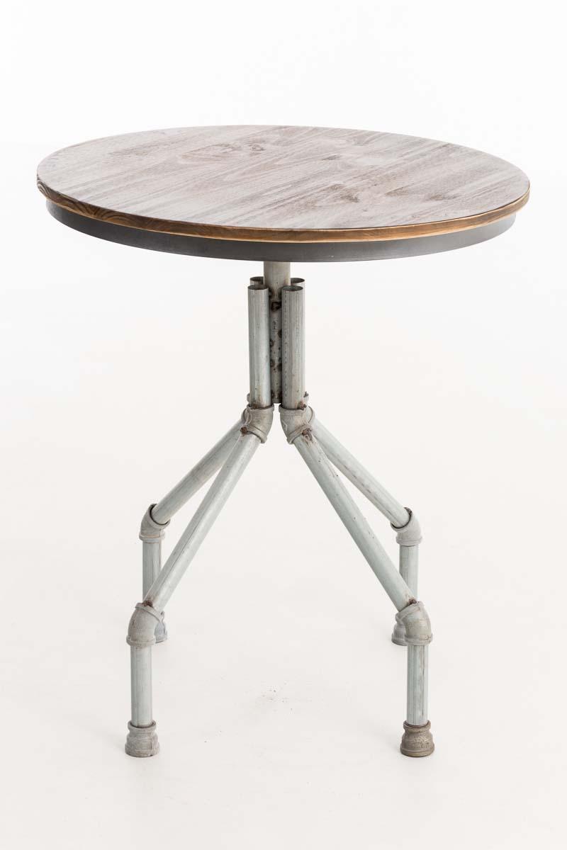 fd32c2eea272 Kovový barový stôl Pipe industriálny štýl ~ v83-102 x Ø70