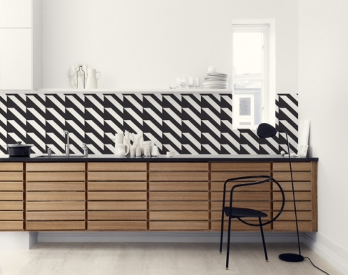 Kuchynská tapeta zástena KitchenWalls - Design Collection KG003 (300 x 60 cm)