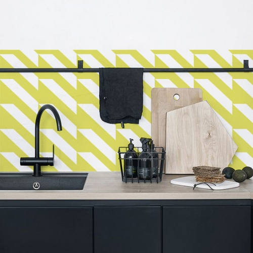Kuchynská tapeta zástena KitchenWalls - Design Collection KG004 (300 x 60 cm)