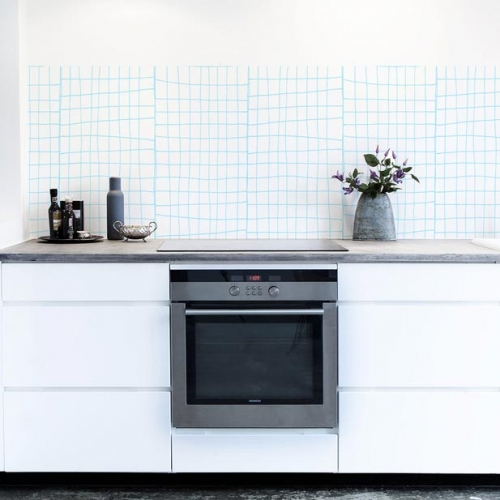 Kuchynská tapeta zástena KitchenWalls - Design Collection SCM002 (300 x 60 cm)