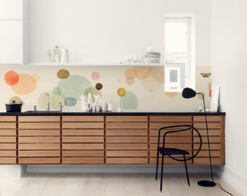 Kuchynská tapeta zástena KitchenWalls - Design Collection VW001 (300 x 60 cm)