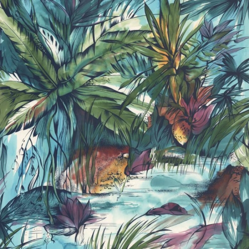 Vliesová tapeta Mr Perswall - Tropical Colours 225 x 265 ...