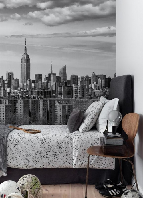 Vliesová tapeta Mr Perswall - Greyscale Big Apple 405 x 270 cm